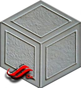 45*Mosaic mold :rojin model 45
